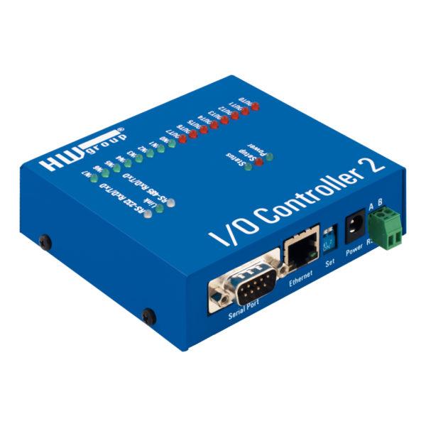 Полный последовательный порт RS-232/485, 8DI и 8 DO через Ethernet.