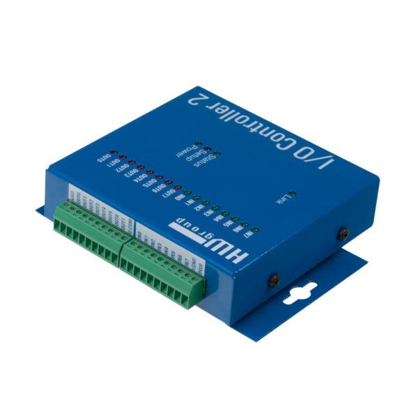 Контроллер ввода / вывода версии 2 соединяет полный последовательный порт RS-232/485 и ввод цифровой / вывод с Ethernet.