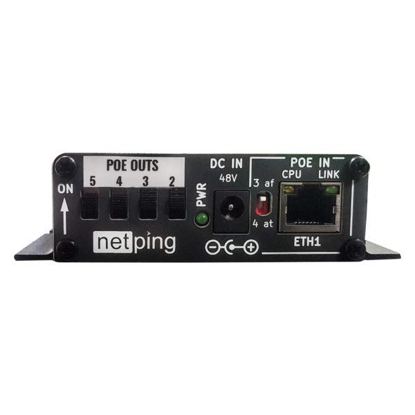 POE коммутатор NetPing NP-GB322