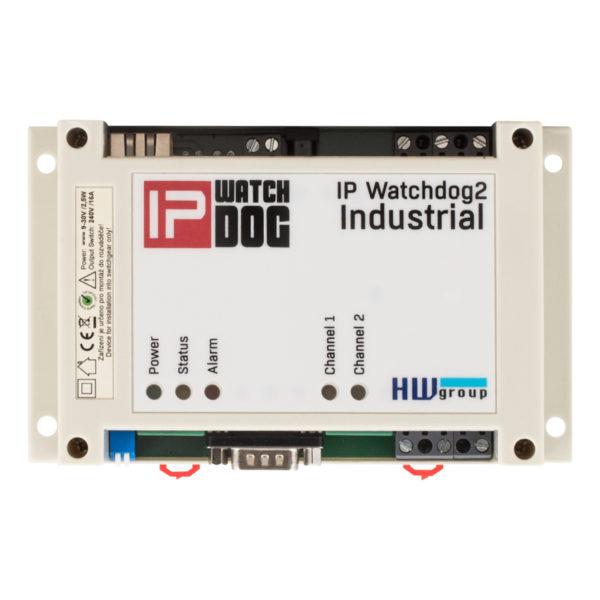 Промышленный детектор отказа от интернет-соединения или подключенного устройства LAN / RS-232 с помощью его автоматической перезапуска и уведомления