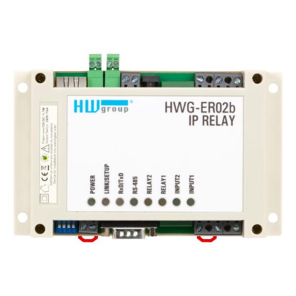 Изображение иллюстрации IP Relay HWg-ER02b вид сверху