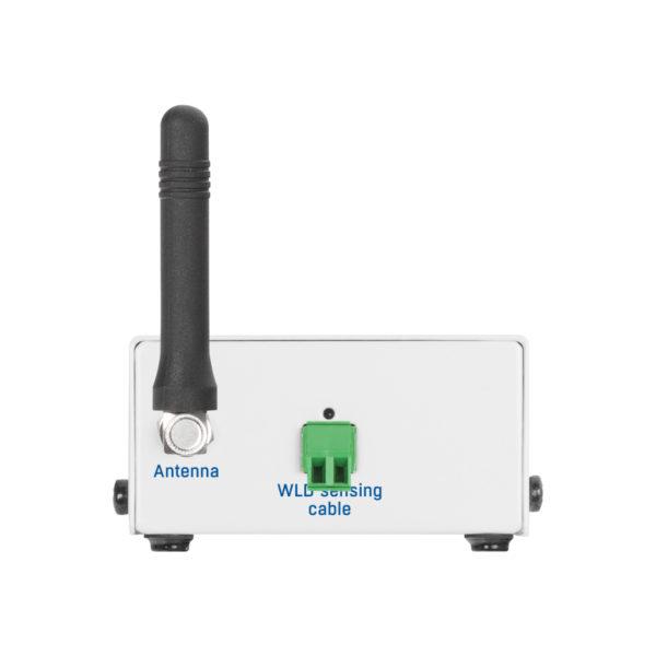 Горящий светодиод указывает на наличие воды или отключенный сенсорный кабель.