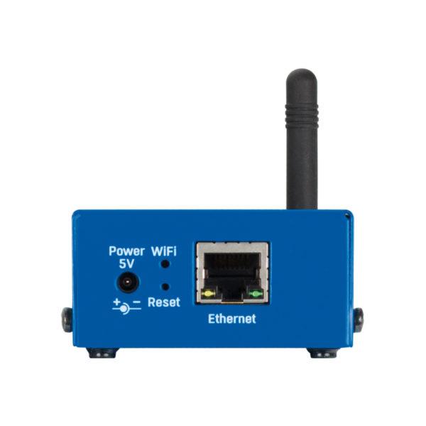 Об обнаруженных утечках или отключении кабеля датчика WLD можно сигнализировать, активировав релейный выход на устройстве Poseidon2 или Damocles2 через Ethernet.