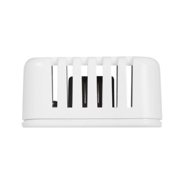Размещенные в небольшом элегантном пластиковом корпусе, датчики Sensor THPVoc 1W-UNI можно закрепить на стене или потолке или на столе.