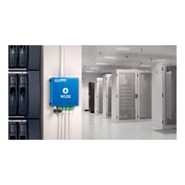 Детектор утечки воды WLD2 WiFi можно установить в труднодоступных местах.
