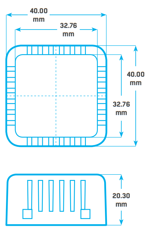 Рисунок 1. Temp HomeBox размеры