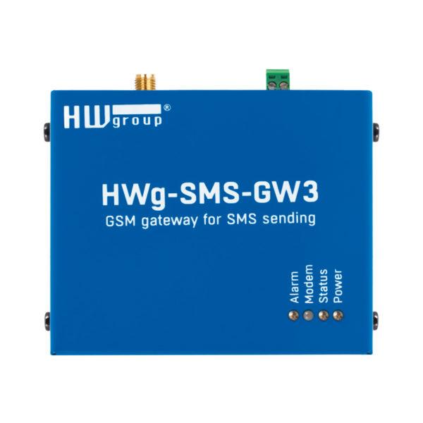 Шлюз для отправки SMS-сообщений с HWg-устройств.