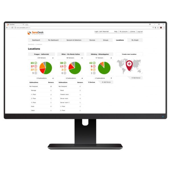 SensDesk - Портал мониторинга и управления вашими IoT-проектами
