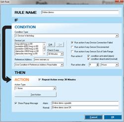 Рисунок 3. HWg-Trigger для SMS-GW3 LTE E