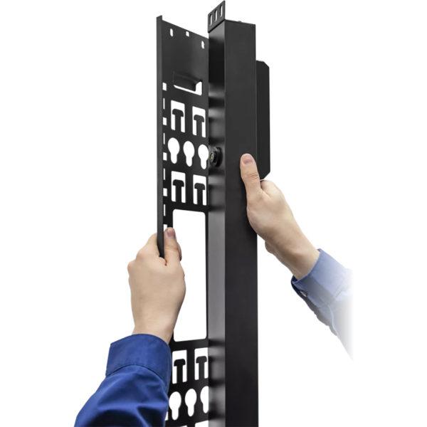 TP-STD-C-20A04B-32L1 - блок розеток с функцией управления каждой розеткой серия STD, 20xC13, 4xC19, вход IEC60309 32A (2P+PE) установка