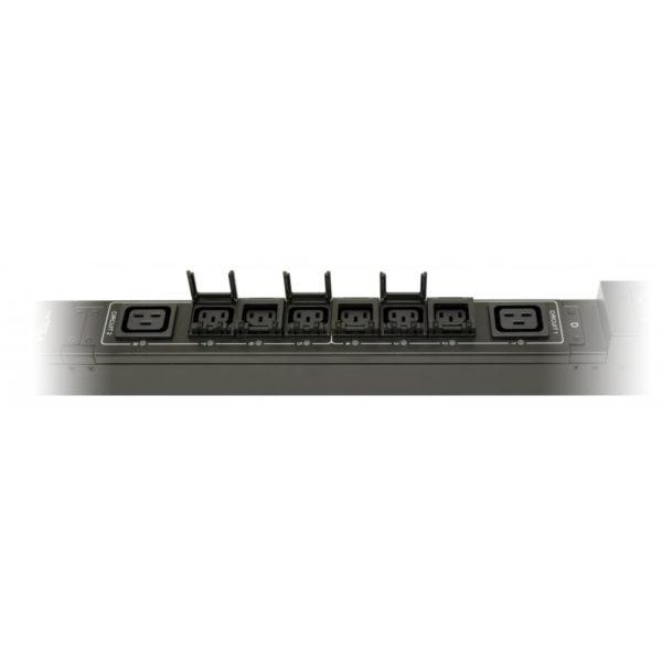 TP-STD-B-20A04B-32L1 - блок розеток с функцией измерения каждой розетки серия STD, 20xC13, 4xC19, вход IEC60309 32A (2P+PE) розетки