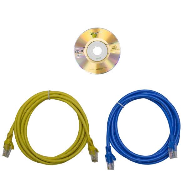 TP-BASIC-20A04B-32L3 - блок розеток с функцией измерения серия BASIC, кабели