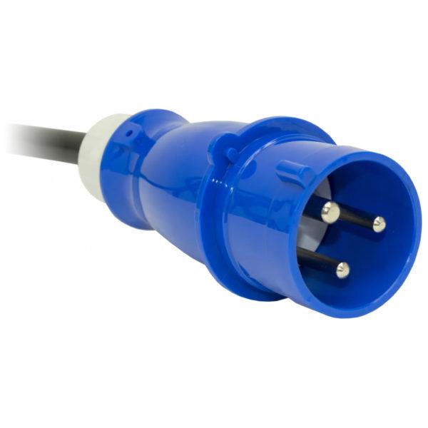 TP-STD-B-20A04B-32L1 - блок розеток с функцией измерения каждой розетки серия STD, 20xC13, 4xC19, вход IEC60309 32A (2P+PE) вилка