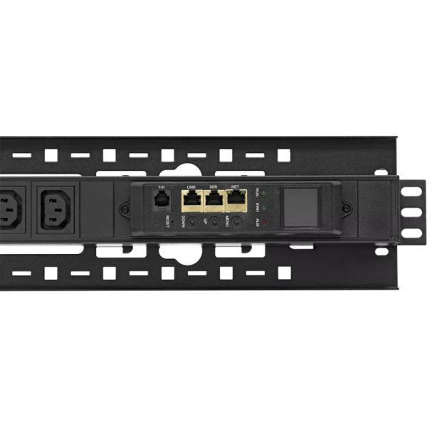 TP-BASIC-40A08B-32L1 - блок розеток с функцией измерения серия BASIC